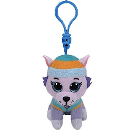 Big Eyes Plush Keychain Toy Doll Fox Owl Dog Unicorn Penguin Giraffe Leopard Monkey Dragon with Tag 4[ 10cm] (Everest K) ()