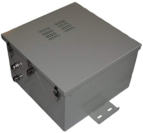 NEMA 4X Aluminum Electrical & Battery Enclosure 17″ x 17″ x 10″ with Back Plate
