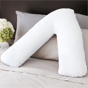 fbbc80e40ea Memory Foam Orthopaedic V-Shaped Pillow Nursing Pregnancy Back Support  Pillow