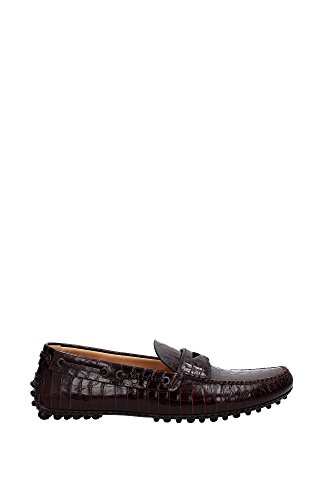 Loafers Car Shoe Men - (KUD641BRUCIATOSTAMPACOCCO) UK Brown