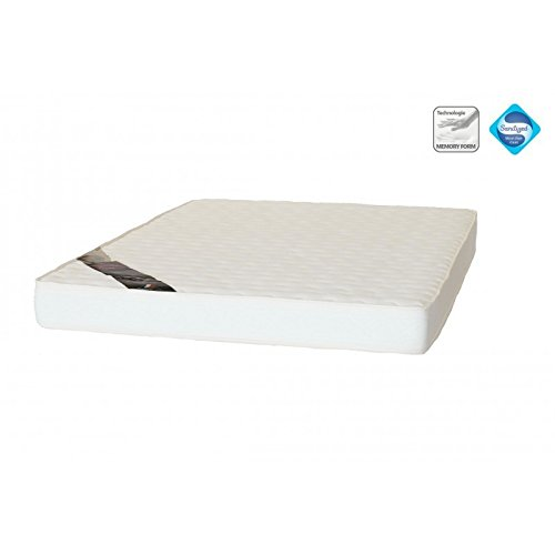 Matelas Mémoire de forme haute densité 5 zones de confort - 140 x 190 cm