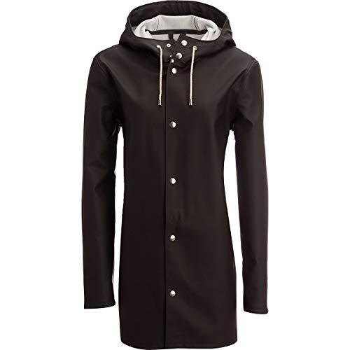 Stutterheim Men's Stockholm Raincoat, Black, Small