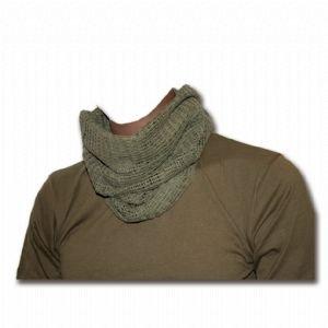 Gaze Web-Tex scarf- net vert