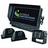 MOBILE AWARENESS MALDKS70T VisionStat 7' Triple Side View Camera System
