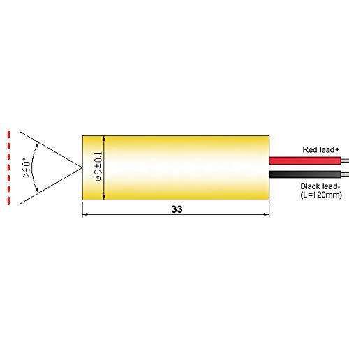 Quarton Laser Module VLM-520-28 LPT Green Laser Line Generator (ECONOMICAL LINE Laser) by Quarton (Image #1)