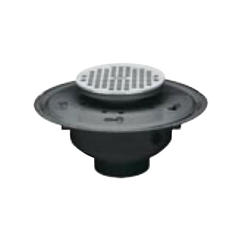 Oatey 72113 PVC Adjustable Commercial Drain with 6-Inch SS Grate, 3-Inch lovely