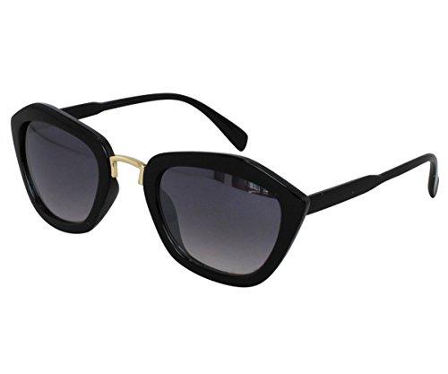 EyeBuyExpress Bifocal Sunglasses Womens Retro Style Large Unique Shape High - Style Wayfarer Large Sunglasses