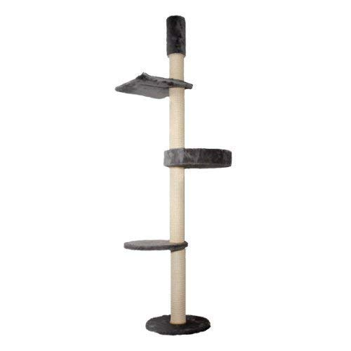 Kattens No. 1 Eiffel Cat Tree with Ceiling Clamp Grey