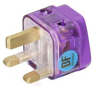 UK Double Outlet Adapter (13A)
