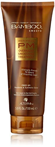 Bamboo Smooth Anti-Frizz PM Overnight Smoothing Treatment, 5-Ounce