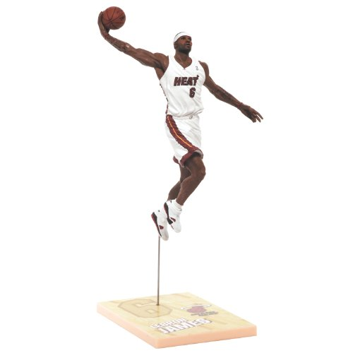NBA Miami Heat McFarlane 2012 Series 21 LeBron James (2) Action Figure (Miami Heat James compare prices)