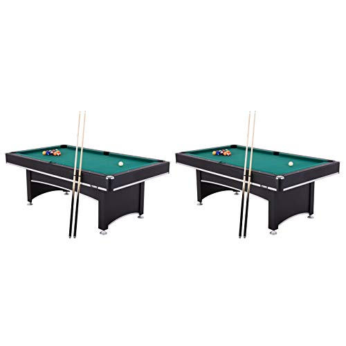 Triumph Pool Table - Triumph Phoenix 7 Foot Conversion Pool Game Table w/ Table Tennis Ping Pong Top (2 Pack)