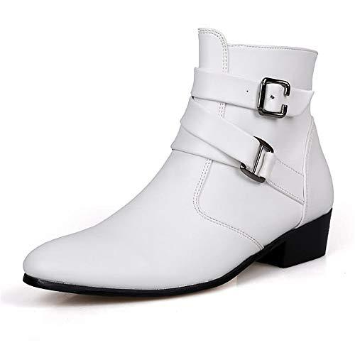 Colore Colore Colore Nero Casual Sole Jodhpur Jincosua Bianca Soft Boots Mens Mens Mens Mens Dimensione Antiscivolo Classic 46 Stivaletti Traspirante EU 8nqPvg