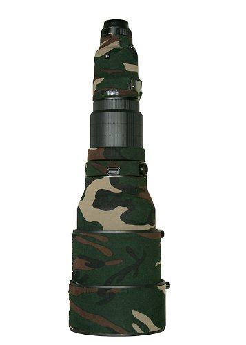 LensCoat LCN600IIFG Nikon 600 AFS II Lens Cover Lens Cover (Forest Green Camo)