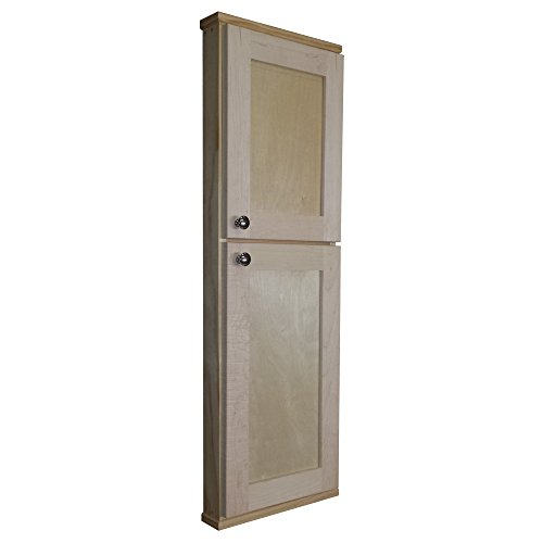 WG Wood Products Riviera on The Wall Spice Cabinet with 2.5