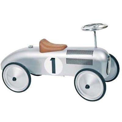 Rutscher und Bobby-Car Bestseller - Goki Oldtimer Silber