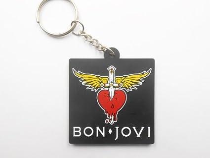 Keychains llavero - Bon Jovi - música Pop - Goma ...
