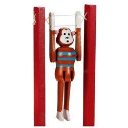 Monkey Gymnastic - Toysmith Gymnastic Monkey Toy