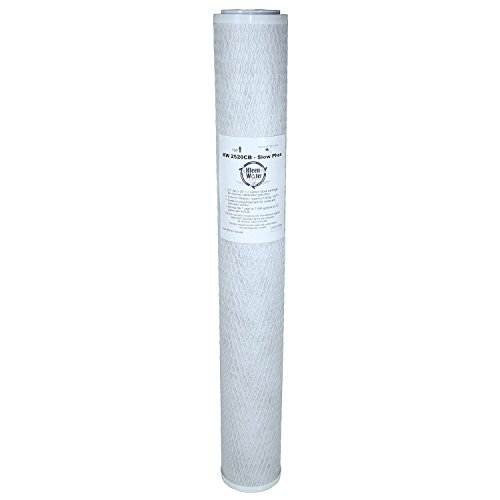 RCFS220 Compatible Filter, KleenWater Brand KW2520CB Replacement Carbon Block Water Filter Cartridge, Chlorine Cloramine Sulfur Odor Pesticide Contaminants Dirt Sediment Filtration
