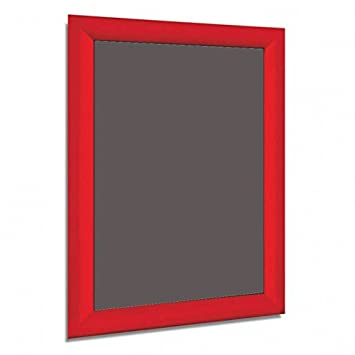Aluminium RED A4 A3 A2 A1 A0 Mitred Snap Frames Wall Posters Holder ...