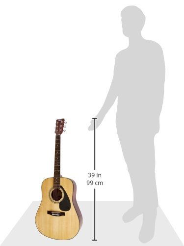 Yamaha FD01S Solid Top Acoustic Guitar (Amazon-Exclusive) by YAMAHA (Image #5)