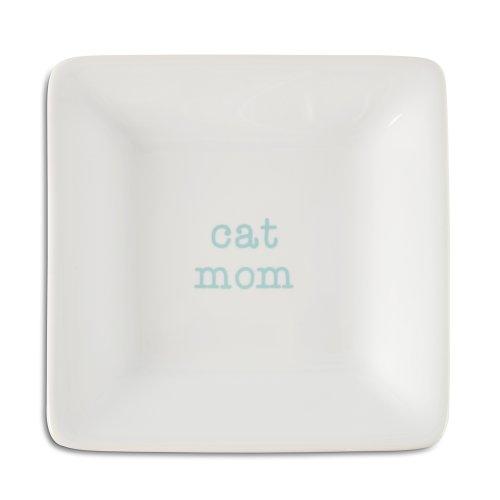- Pavilion Gift Company 14031 Cat Mom Ceramic Keepsake Dish, 4-1/2-Inch