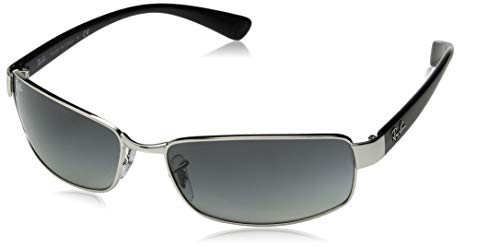 Ray Ban Rb3364 Silver Frame/Grey Gradient Lens Metal Sunglasses, ()