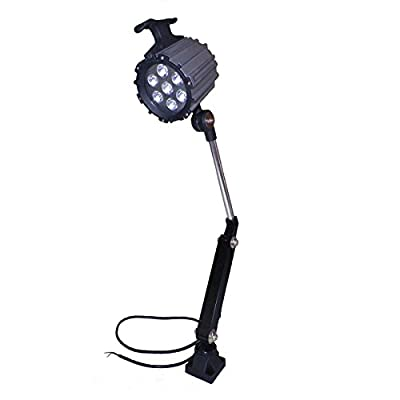 Z LIVE CENTER LED Machine Work Lamp 24V 9W Waterproof CNC Worklight With 100,000 Hrs