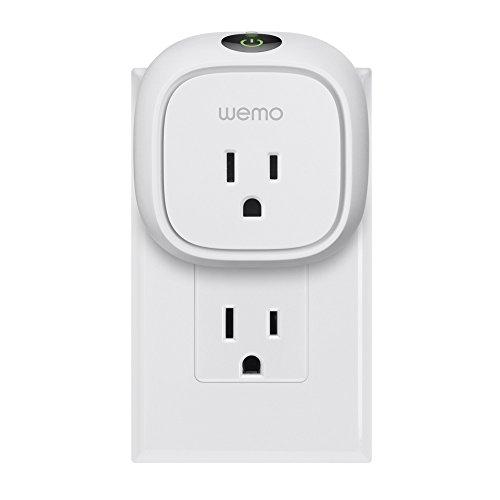 Amazon.com: Wemo Insight Smart Plug, Wi-Fi Enabled, Control Your ...