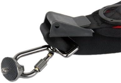ZL-U Camera Strap Anti-Slip Elastic Adjustable Neoprene Quick Sling Strap for Camera Black Color : Red