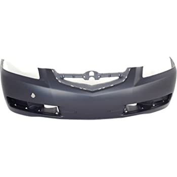 Amazoncom CPP Primed Front Bumper Cover Replacement For - 2005 acura tl front bumper