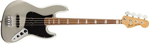 Fender Vintera '70s Jazz Bass - Pau Ferro Fingerboard - Inca Silver