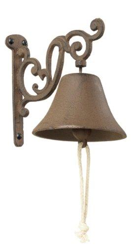 NEW Ornate Doorbell. Cast Iron Antique Finish Door Bell