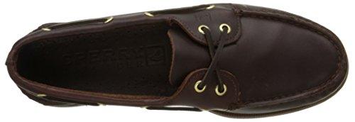 Sperry Authentic Original 2-Eye, Scarpe da Barca Uomo Marrone (Amaretto)