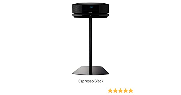 Bose Wave Floor Stand Pedestal Table Shelf (Espresso Black)