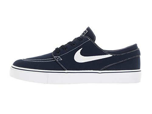 Nike Herre Zoom Stefan Janoski Cnvs SkaterSko Obsdn-wht 8A1uCuMbY