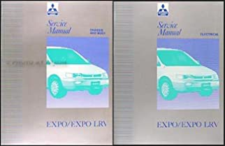 1992 1994 mitsubishi expo expo lrv service shop manual original 2 rh amazon com Mitsubishi Expo Electrical Relay Mitsubishi Expo LRV Craigslist CT