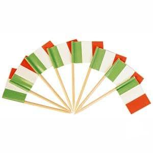 144 counts Italian Flag Picks