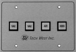 Tech West Remote Control Panel - 1 VAC Only (CP-1V)