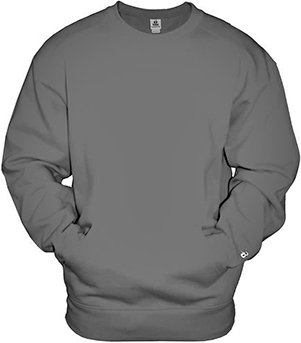 10 best badger crewneck sweatshirt with front pocket