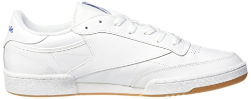 Reebok C Baskets Int Club gum royal Blanc white Basses 85 Femme int gum white royal rr5Cgq