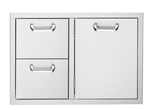 Lynx LSA636 Sedona Double Drawer and Access Door Combo, (Lynx 36 Inch Access Doors)
