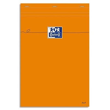 Oxford Confezione da 5agrafés Righe francesi 160 A4 arancione 100106303