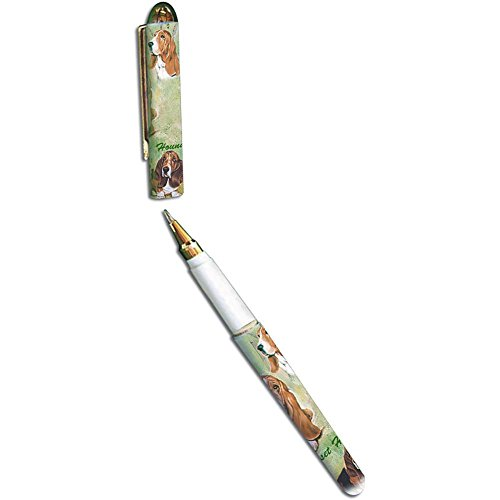 Basset Hound Pen by Best Friends by Ruth Maystead