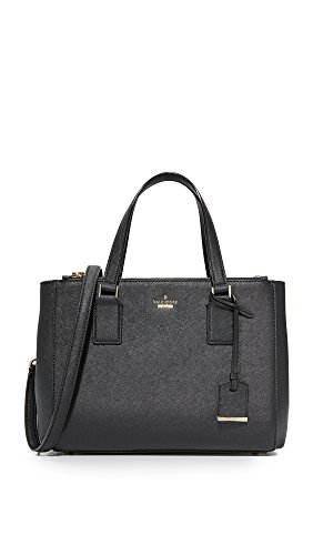 Kate Spade New York Women's Cameron Street Teegan Satchel, Black, One Size by Kate Spade New York
