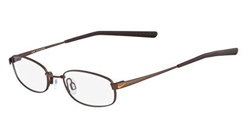 NIKE Eyeglasses 4630 241 Satin Walnut Dark Brown 46MM by NIKE