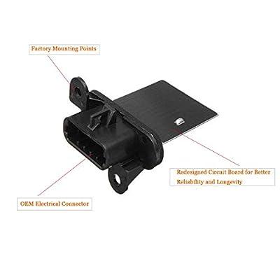 973-582 HVAC Fan Blower Motor Resistor w/Wire Harness for 2005-2020 Toyota Tacoma, Replace#4P1650, JA1772, RU1435, RU746, 8713804050, 8713804052: Automotive