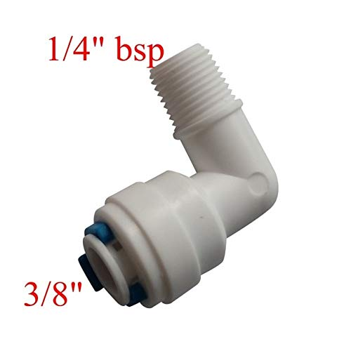 uxcell 1//2 Inch BSP Male to 1//4 Inch OD Straight Quick Connect Water Purifiers Tube Fittings Push in to Connector Filter RO Tubing Connector for RO Reverse Osmosis System 10pcs