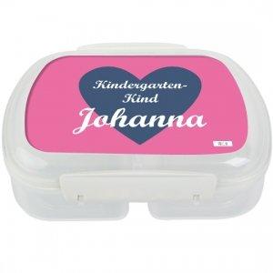 Brotdose mit Namen,Schule, Frühstücksdose, Mädchen eigene Lunchbox von Finlix