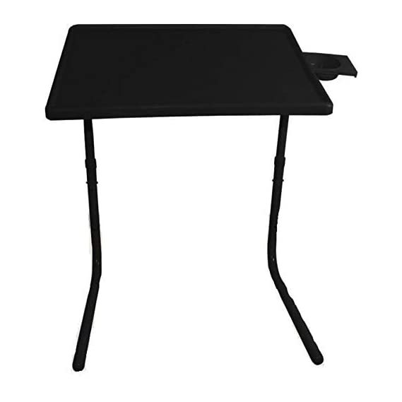 Flanker Multi Purpose Dining Laptop Study Foldable & Moveable Black Changing Table